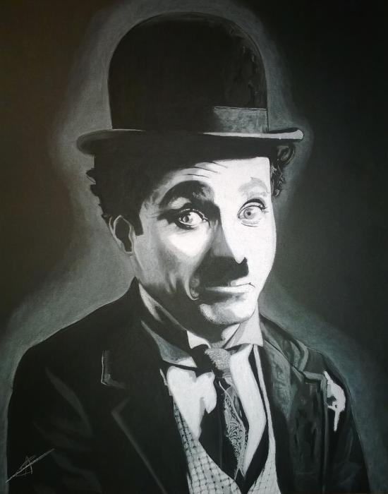 Charlie Chaplin por LUDO